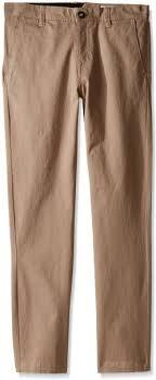 Volcom Pants Size Chart Volcom Little Boys Frickin Slim Fit Cotton Twill Chino Pant
