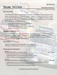 Sample Resume Auto Mechanic Sample Technical Resume Auto Mechanic