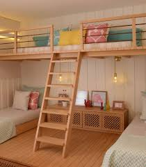 Girls Bedroom Lofted Playspace