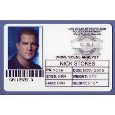 Police Ve… Crime Las From Prop Stokes Investigation Id Online Card Maker Csi Vegas Vegas In Scene Nick lt;3 Csi Cards 2019