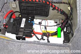 e90 amp wiring diagram e90 image wiring diagram bmw e90 battery replacement e91 e92 e93 pelican parts diy on e90 amp wiring diagram