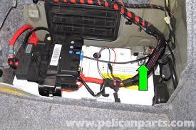 e amp wiring diagram e image wiring diagram bmw e90 battery replacement e91 e92 e93 pelican parts diy on e90 amp wiring diagram