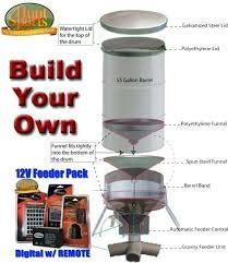 17 best ideas about best deer feeder pvc deer build your own deer hunting feeders build your own 55 or 85 gallon barrel or drum