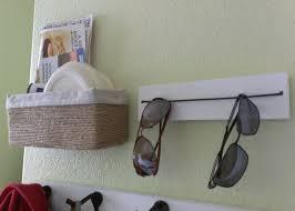 could do a short version for bedside eyegl storage too diy sungl storage