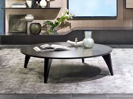 round coffee table for living room circle by carpanelli