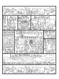 Noah S Ark Coloring Page In