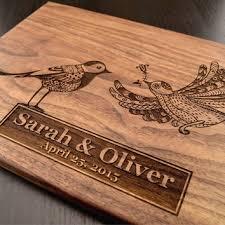 engraved cutting board custom wedding gift personalized choppi