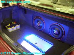 custom installation services boomer mcloud nashua honda accord custom trunk subwoofer enclosure battery amplifier