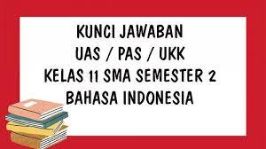 Maybe you would like to learn more about one of these? Kunci Jawaban Uas Bahasa Indonesia Kelas 11 Sma Smk Semester 2 Soal Ukk Pat Pilihan Ganda Essay Tribun Pontianak