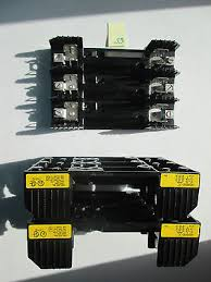 buss chm1i 30a 600v fuse block holder lot of 3 • 16 66 picclick lot of 3 new buss fuse block r60060 3c 200k amp 60a 600v fuse holder