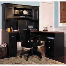 Stylish Computer Desk Hutch Stunning Home Decorating Ideas With Bush