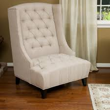 miles tall wingback accent chair by christopher knight home