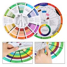 Artist Colour Mixing Chart Details About Atomus Color Wheel Artist Paint Mixing Guide Tattoo Color Wheel Co