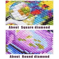 "<b>5D</b> DIY Diamond Painting Cross Stitch <b>Full Square</b>/<b>Round Drill</b> "" VW ..."