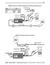 msd ignition wiring diagrams distributors · msd 6 series to pertronix kit
