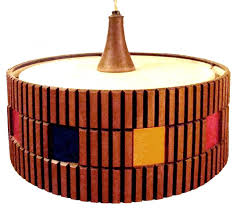 mid century modern counterbalance ceiling light