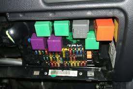 p2 p3 fuses relays