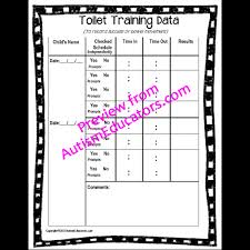 Toileting Schedule Chart Life Skills Toilet Training Visuals Kit And Social Story For Autism