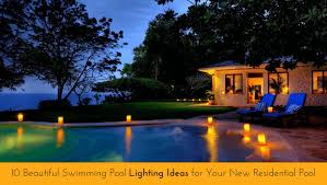 swimming pool lighting design. Swimming Pool Lighting Design 10 Beautiful Ideas For Your New Residential 1