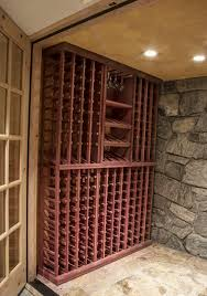 from closet to wine cellar a look at what can be done with wineracks com s cellar combos