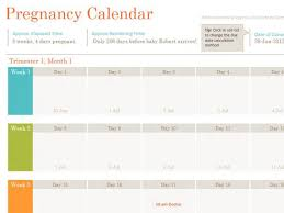 Pregnancy Calendar By Due Date Magdalene Project Org