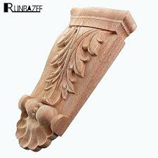 decorative wood appliques decals for models best of flower carving wooden uk