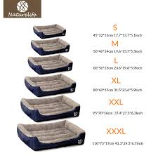 Pet Bed Size Chart Aliexpresscom Buy Bow Tie Pet Dog Bed Warming Dog House Dog