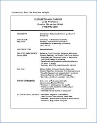 Cv Format For Teacher Job 24 Indian Teacher Resume Format SampleResumeFormats24 13