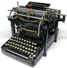 century office equipment. image above a remington standard 7 typewriter from the 19th century was gun manufacturer that turned to office equipment after civil war