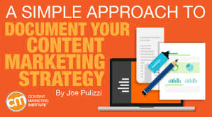 Content Marketing Strategy A Simple Approach To Document Your Content Marketing