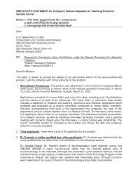 Statement Letter Sample For Requesting Bank Visa Personal Writing