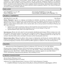 Cover Letter Pharmacist Resume Examples Pharmacist Resume Sample Uae