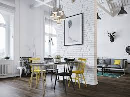 Modern Rustic Apartment in Poland: Inspiring Scandinavian Style