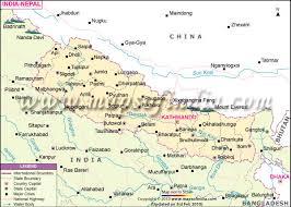nepal map Nepal India Map india nepal map nepal india border map