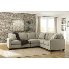 Ashley furniture sectional couches Shaped Ashley Furniture Alenya Piece Sectional Sofa In Quartz Click To Enlarge Product Id 521846 One Way Furniture Ashley Furniture Alenya Piece Sectional Sofa In Quartz 1660055