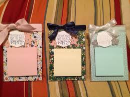 stampin up post it note holders with acrylic frames