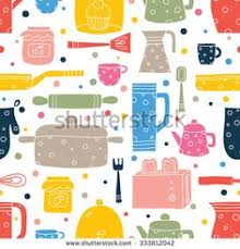 cute cooking wallpaper. Unique Cute Cute Kitchen Vector Seamless PatternSeamless Pattern Can Be Used For  Wallpaper Fills Throughout Cooking Wallpaper R