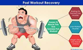 post workout recovery easing muscle