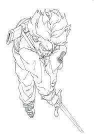 Dragon Ball Z Coloring Pages Goku Super Saiyan God Book Page Free ...