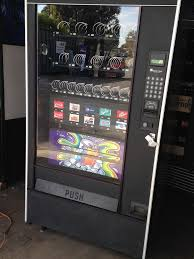 Automatic Products Vending Machine Inspiration Automatic Products Combo Vending Machine Soda Snack Accepts Coins