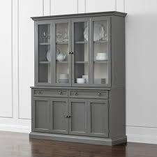 cameo 2 piece grey glass door wall unit reviews crate and barrel with storage cabinets doors design 1