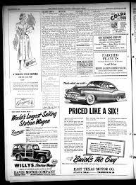 The Citizens Journal (Atlanta, Tex.), Vol. 70, No. 45, Ed. 1 Thursday,  November 10, 1949 - Page 8 of 12 - The Portal to Texas History