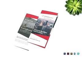 Free Online Fold Brochure Maker Pamphlet Printable Best