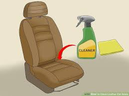 image titled clean leather car seats step 3