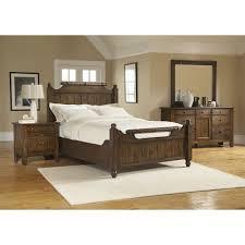 rustic oak bedroom set broyhill furniture