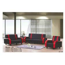 sg tan clic sofa 1 2 3 seater black home furniture others on carousell