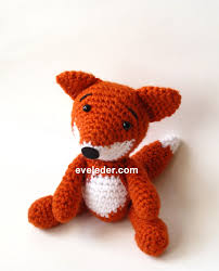 Crochet Fox Pattern Beauteous Red Fox Amigurumi Crochet Craft Designs By Eve Leder