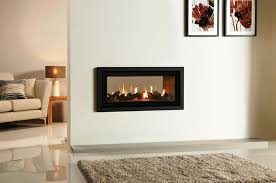 amazing double sided gas fireplace