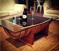 furniture made from wine barrels. Wine Barrel Table For Sale Amazing Find More Custom Made Solid Oak Coffee . Furniture From Barrels