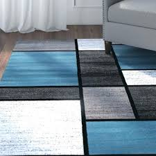 blue and grey area rug white rugs black s wool